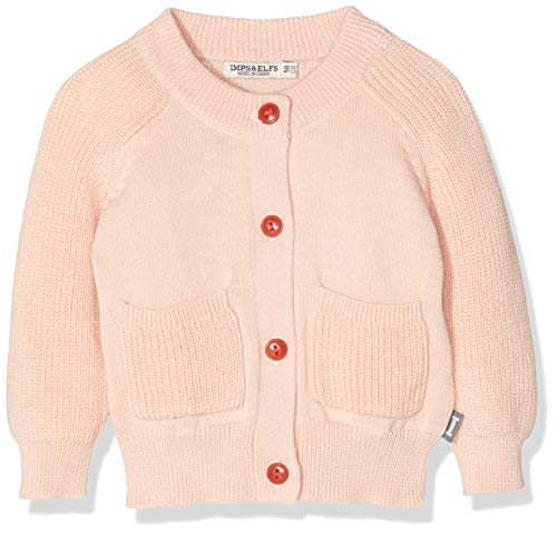 Imps & Elfs G Cardigan Long Sleeve Gilet, Rose (Evening Sand P332), 86 Bébé Fille