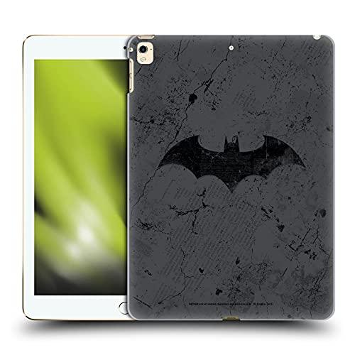 Head Case Designs sous Licence Officielle Batman DC Comics Logo en détresse Hush Coque Dure pour l'arrière Compatible avec Apple iPad Pro 12.9 (2017)