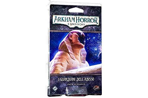 Asmodee - Arkham Horror LCG-I Guardianes del Abiso Juego de Cartas, Multicolor,...