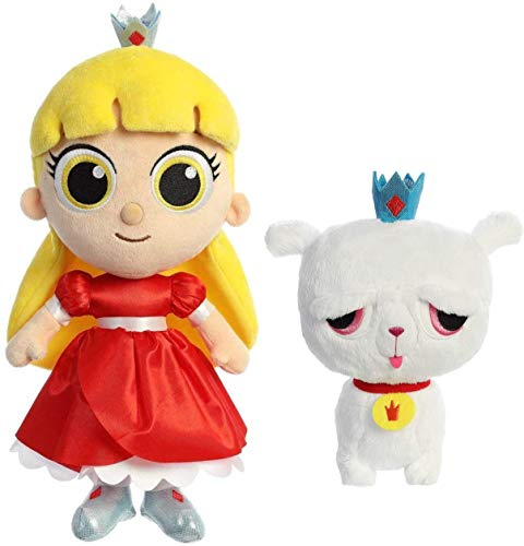 Aurora Plush True and The Rainbow Kingdom - Set of Two: 11 Inch Grizelda and 7.5 Inch Frookie Kansas