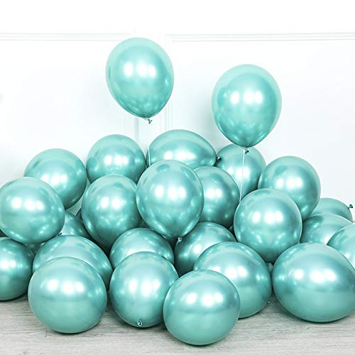 10pcs 5/10/12inch Glossy Metal Pearl Latex Balloons,Thick Chrome Metallic Colors helium Air Balls Birthday Party Decor