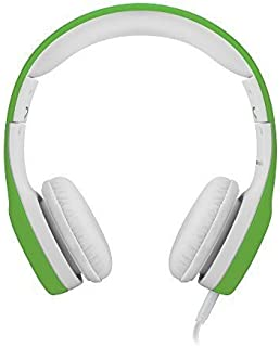 LilGadgets Connect Premium Volume Limited Wired Headphones with SharePort for Children Green