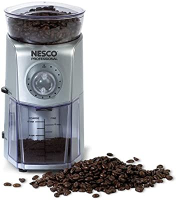 Nesco Professional 12-Cup Burr Grinder with 17 Grind Settings