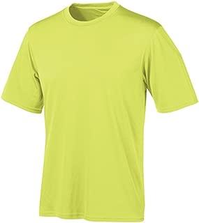 Men's Short Sleeve Double Dry T-Shirt, Safety Green, Medium