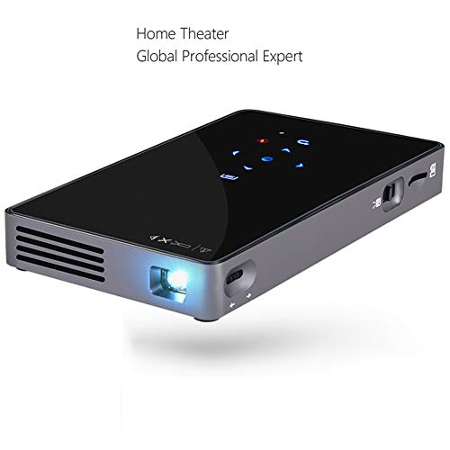 MaiTian projector, mini-projector P8i, Android 4.4 WiFi 2.4 g & 5.8g Dual Band, Bluetooth, draagbare LED-projector, 3D beamer voor 1080p thuisbioscoop