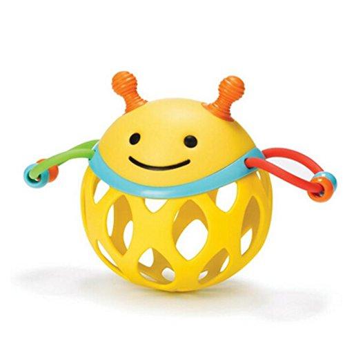 Weekendy Jouet drôle de bébé Enfants éducatif Abeille Main Boule sensorielle colorée Enfants Funnny Balle Jouets Cadeau