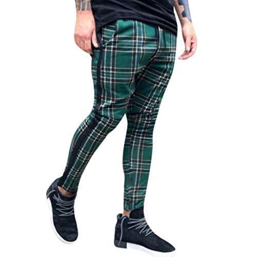 Overdose Pantalones De Hombre Pantalones Deportivos Casuales