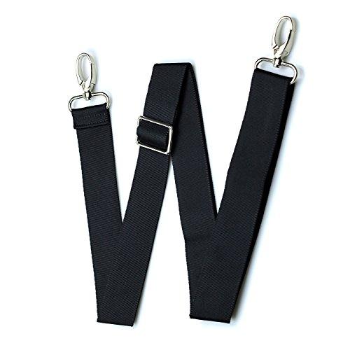 Hibate Replacement Shoulder Straps Adjustable Belt for Luggage Computer Bags - Black