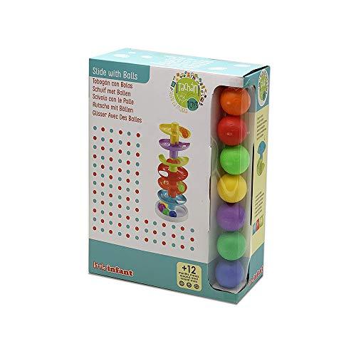 Tachan- Tobogán de bolas de colores 6 alturas (PL1016) , color/modelo surtido