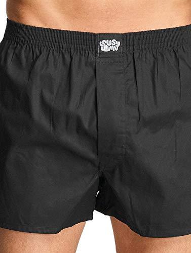 Lousy Livin Herren Wäsche / Bademode / Boxershorts Plain 2 Pack schwarz XL