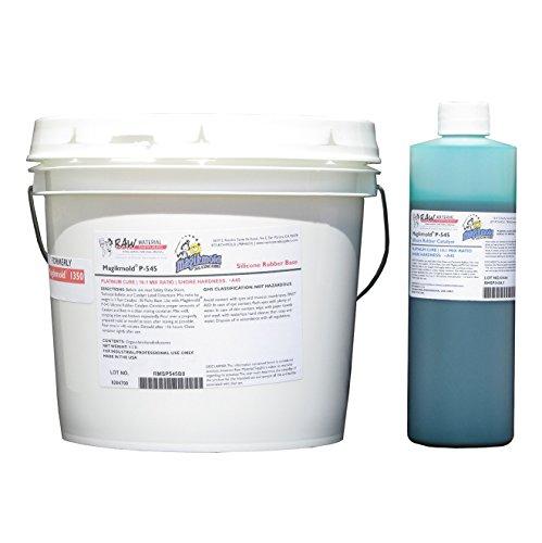 Magikmold P-545 Platinum-Cure Silicone Rubber - 9.9-lb Kit