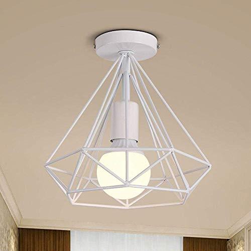 DFJU Lâmpada de teto de Design profissional Vintage Industrial criativo Elegante em...