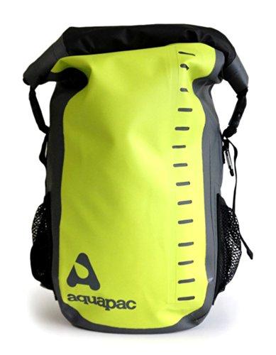 Aquapac Sac à Dos de Trekking Toccoa, 41 cm, 28 L, Multicolore (Vert/Gris)