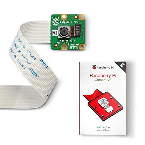LABISTS Raspberry Pi Official Camera Module V2 8Mp, IMX219 Sensore Supporta 1080p, RPi Camera per Raspberry Pi, Arduino e Jetson Nano