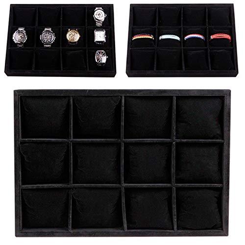 Reloj Monitor Caja Exquisito Forma/Negro / 35x24x5cm
