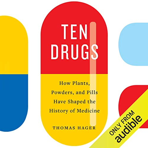 Ten Drugs audiobook cover art