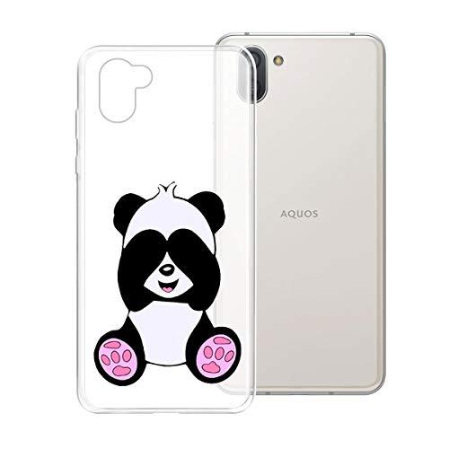 KJYF Schutzhülle Kühler Panda Schale für Sharp Aquos R3 6.20