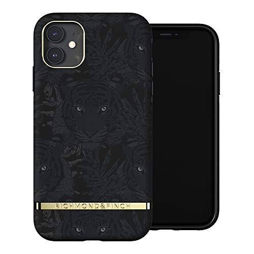 RICHMOND & FINCH Funda Teléfono Diseñada para iPhone 11, Tigre Negro Fundas Probadas contra Caídas, Bordes Elevados a Prueba De Golpes, Funda Protectora
