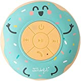 Mr. Wonderful Altavoz Bluetooth Inalámbrico Waterproof para Ducha con Forma de Rosquilla con 3-4 Horas de autonomía y Ventosa para adherirse, Color Verde