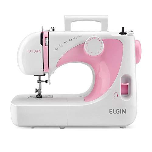 Máquina de Costura Portátil Futura JX-2040 220V - Elgin