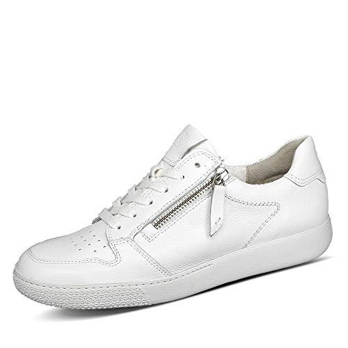 Paul Green Damen SUPER Soft Halbschuhe, Damen Low-Top Sneaker,Halbschuhe,straßenschuhe,Freizeitschuhe,Women's,schnürschuhe,Weiß (038),40.5 EU / 7 UK