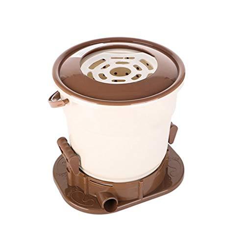 Secadora de Ropa Manual Cubo de deshidratación Manual no eléctrico Portátil para Dormitorio/apartamento de Estudiantes, Secadora Interior de 10 Segundos
