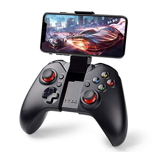 Controller per Android Wireless , PowerLead Gapo Wireless Senza Fili Classico Gamepad Smartphone Game Controller (con Funzione Mouse) per Samsung HTC Moto Addroid TV Box Tablet PC (9037)