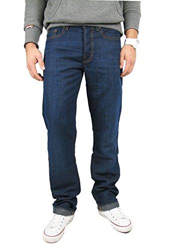Hugo Boss Sommer Jeans Orange 25 blue mit 47% Leinen (W31/L34)