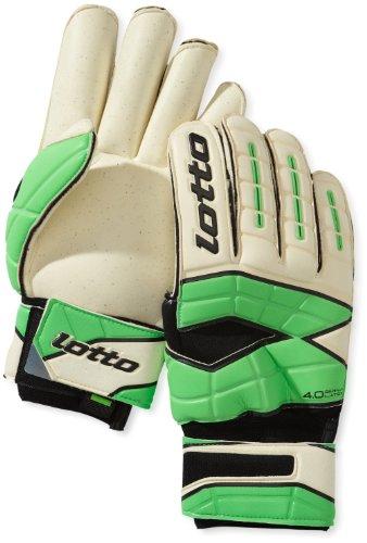 Lotto Sport Herren Handschuhe Glove Gripster Gk250 II, wht/mt.n.Green, 9.5, Q1025