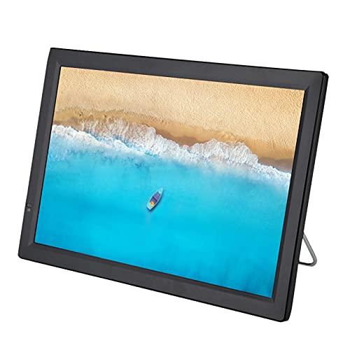 TV Portable,14 Pouces Téléviseur Portable 1080P 16: 9 HD Mini-télévision - Télévisions analogiques avec Batterie 1800mAh pour Chambre, Cuisine, Caravane