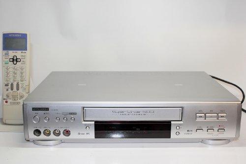 MITSUBISHI 三菱|S-VHS ビデオデッキ HV-BS500 ダビングにも!