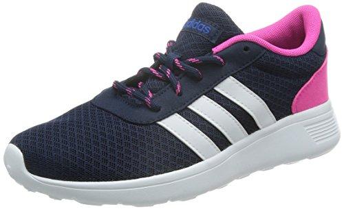 adidas NEO Damen Lite Racer Sneaker, Blau (Collegiate Navy/FTWR White/Blue), 36 EU