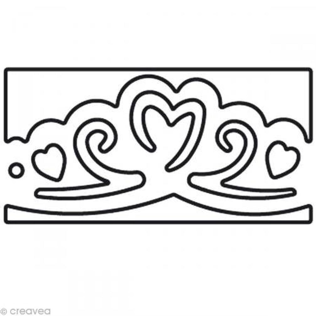 Artemio 10003020 Border Craft Punch Hearts