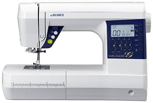 Juki hzl-g220 naaimachine ELECTRONIQUE met draadsnijder automatisch metaal/PVC wit 44,5 x 22,3 x 29,2 cm