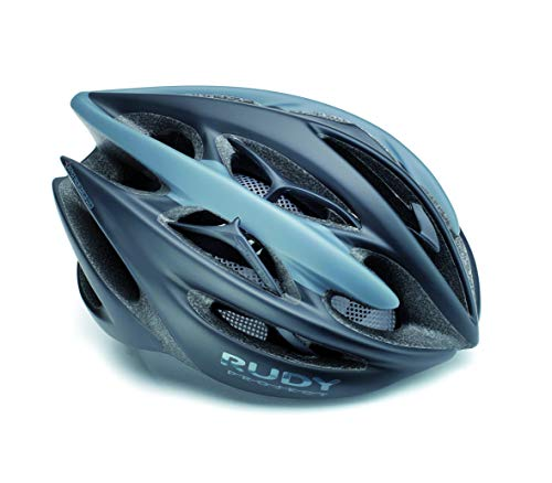 Rudy Project Sterling + - Casco de Bicicleta - Azul/Azul petróleo Contorno...