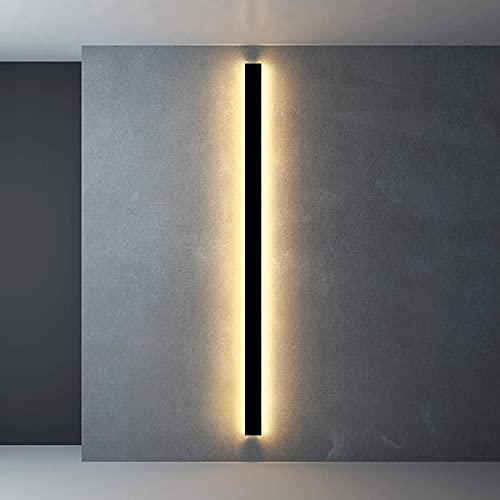 HIGHKAS Lámpara de Pared Interior Apliques de Pared de Aluminio y Metal Luces LED para Sala de Estar Lámpara de Pared Moderna Blanco frío 6000K Iluminación Minimalista para pasillos Decorativa para