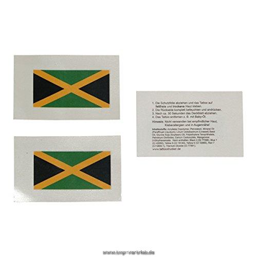 Jamaica tattoo-vlag - Jamaica vlag