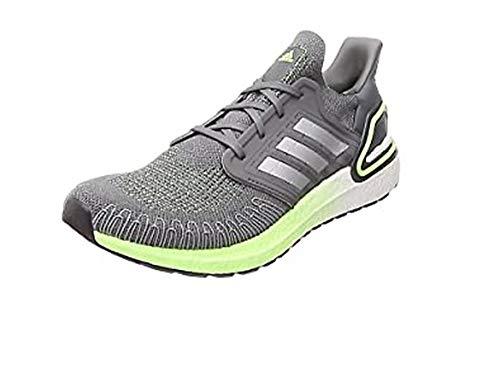 adidas Men's Ultraboost 20 Running Shoe, Dash Grey/Grey Three F17/Boost Blue Violet Met, 5 UK