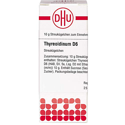 DHU Thyreoidinum D6 Streukügelchen, 10 g Globuli