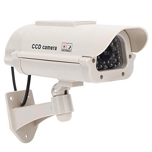 Blantye Monitor simulado CCTV Cámara ficticia Interior al Aire Libre de Alta simulación de monitoreo con luz
