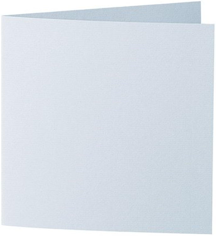 50 Stück      Artoz Serie 1001 Doppelkarten gerippt    Quadratisch, 332 x 166mm, hochwertig, himmelblau B002HMOTJM   | Neues Design  a49ab6