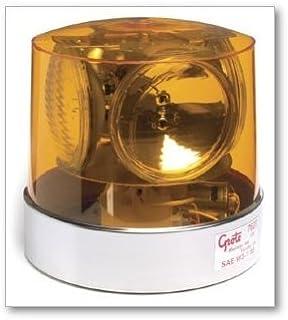 Grote 76203 Yellow Compact Four Sealed-Beam Roto-Beacon
