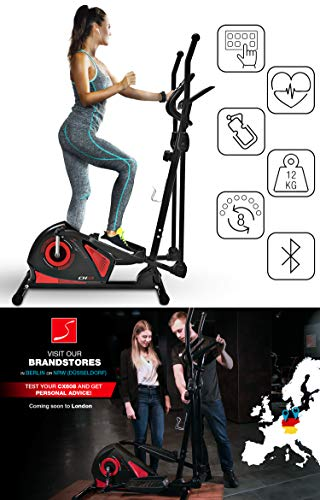 Sportstech-Cross-Trainers-CX625CX608-German-Quality-Brand-Video-Events-Multiplayer-App-multifuctional-display-with-tablet-holder-Eliptical-trainer