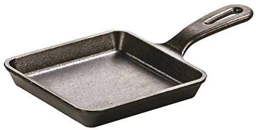 Lodge L5WS3 Cast Iron Wonder Skillet, Pre-Seasoned, 5-inch