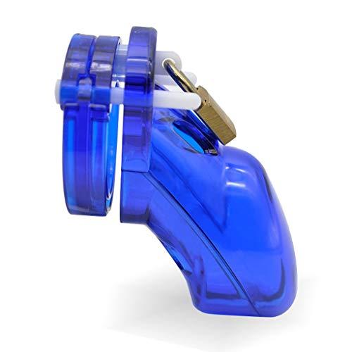 PQB Chāstity Ring, Kunststoff, für Herren, glatte Sicherheit, 5 verschiedene Größen, Sprengringe, 100% wasserdicht