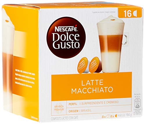 Nescafe Dolce Gusto, Latte Macchiato, 16 Cápsulas
