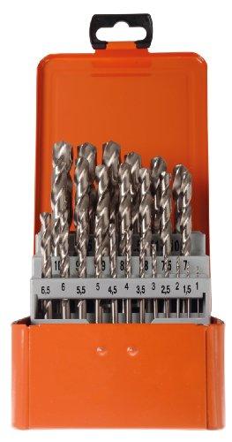 Projahn Spiralbohrer-Kassete BASIC (25-teilig, aus dem Vollen geschliffen, lange Lebensdauer) 60378