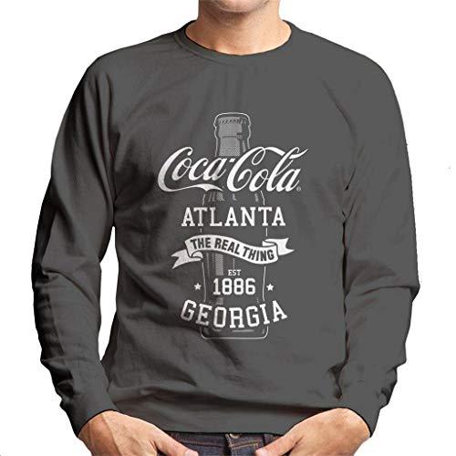 Coca Cola fles het echte ding mannen trui