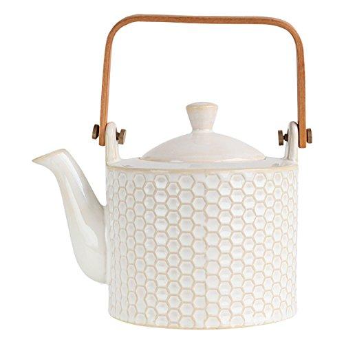 ASA Porzellan Teekanne, weiß, 12x12x16.7 cm