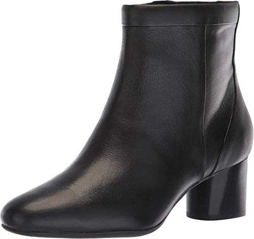 Clarks Un Cosmo Up Black Leather 10